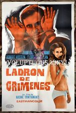 35mm Feature CRIME THIEF-(1969) Italian language Feature Film.