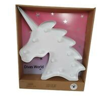 UNICORN LED LAMP XXL WITH COLOUR CHANGE 30x30cm DECO INDOOR NIGHT LAMP PRIMARK