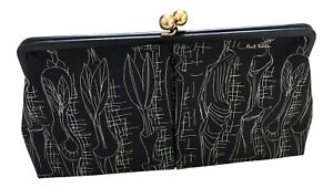 Paul Smith MABON HENRY MOORE Standing Leaf Figure Clutch Bag