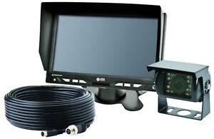 """K7000 VISION ALERT GEMINEYE 12V 24V REAR VIEW COLOUR 7"""" LCD REVERSING CAMERA KIT"""
