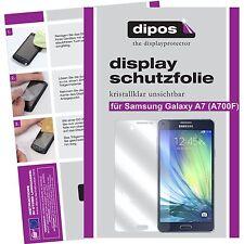 2x dipos Samsung Galaxy A7 (SM-700) Protector de Pantalla transparente