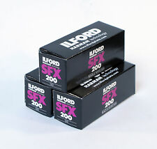 Ilford SFX 200 120mm Pack of 3