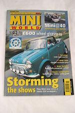 Mini World: November 1999/Cabrio/1420 Road Racer/1275GT/40 Silverstone