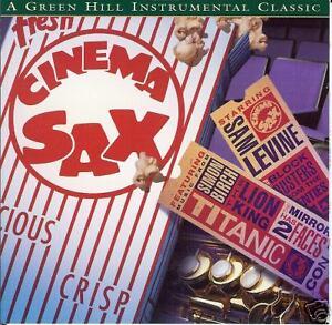 Cinema Sax - Sam Levine - Produced By Jack Jezzro