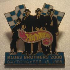 Hot Wheels #44 BLUES BROTHERS 2000 DATONA 500 LAPEL PIN