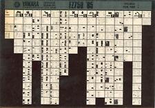 YAMAHA FZ 750 _ Service Manual _ Microfich _ microfilm _ Fich