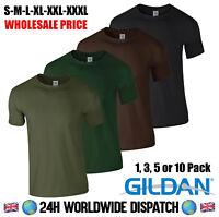 Wholesale Gildan T Shirt Army Green Military Fishing Brown Black Camp Summer Gym