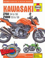 Genuine Haynes Workshop Manual 4762 Kawasaki Z750 Z1000 2003-2008