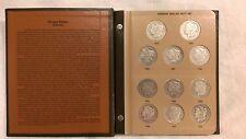1878-1921 Dansco Morgan Dollar Date Set Mostly Complete 23 Coins New Album