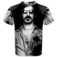 New FRANK ZAPPA FAN Sublimation Men's Sport Mesh Tee T-Shirt Size XS-3XL