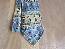 Disney MICKEY Mouse & his Dog PLUTO Tie by Mickey Unlimited