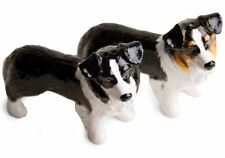 More details for border collie gift, cruet set handmade by blue witch