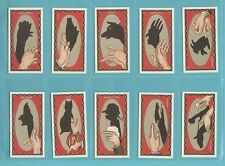 More details for novelty - nostalgia repros  (of ardath) - 10  sets of 35 - hand shadows cards