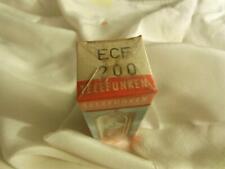 ****** ECF200 LAMPE TUBE VALVE TELEFUNKEN >>SEALED<<  BOX NOS NIB  =°=