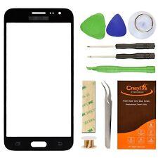 Samsung Galaxy J3 J320f Negro Pantalla De Reemplazo Cristal De La Lente Kit D...