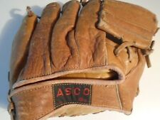 Vintage Youth Baseball Glove Right Hand Thrower-Asco-made in japan-leather