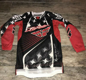Fly Racing Kinetic Jersey Red/black/White Size Youth Small