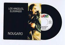 45 RPM SP PROMO CLAUDE NOUGARO LOS ANGELES ELDORADO