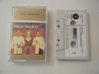 HIGH SOCIETY SOUNDTRACK CASSETTE TAPE 1961 PAPER LABEL NO BARCODE CAPITOL EMI UK