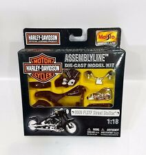 Maisto Harley Davidson Assemblyline 2000 FLSTF Street Stalker Model Kit BX5
