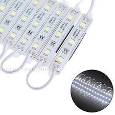 20-1000 LED Cool White 5050 12V SMD 3LED Module Waterproof Light Decoration 🔥US