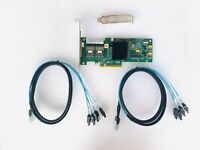 LSI 9240-8i 6Gbps SAS HBA FW:P20 9211-8i IT Mode ZFS FreeNAS unRAID 2* SFF SATA