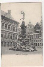 Belgium, Anvers, Le Brabo Early UB Postcard, B274