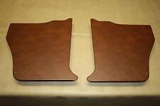 Holden Torana LC-LJ kick panels L & R. Chestnut vinyl. NEW. Incl trim clips.
