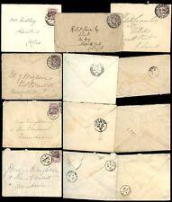IRELAND QV 1885-97 INTERNAL...6 COVERS