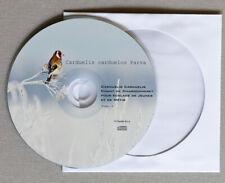 Goldfinch (PARVA) CD Vol:1.  CHARDONNERET. Stieglitz . Canto Del Cardellino