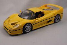 MAISTO Special Edition 1:18 Ferrari F 50 Hardtop 1995 Gelb (Giallo) NO BOX!