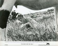 SEXY BRIGITTE BARDOT L'OURS ET LA POUPEE 1970 VINTAGE PHOTO ORIGINAL #3