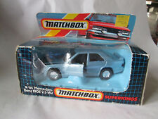 1987 Matchbox Superkings Mercedes-Benz 190E 2-3-16V Car K-115 England NIB