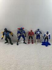 Vintage Power Rangers Action Figure Lot of 5 Bandai 1997 1999