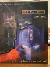 Transformers G1 Masterpiece PP01C Optimus Prime sin usar y en caja sellada clara fe líder