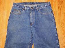 BERKLEY & JENSEN STRAIGHT BLUE JEANS MEN'S SIZE 35 X 32 - GREAT!