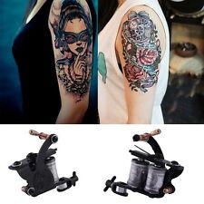 Complete Tattoo Kit Set Equipment Machine Needles Power Supply Gun Inks Fine DE