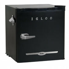 Igloo 1.6 Cu-Ft. Mini-Refrigerator with Reversible Door Black