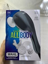 Wahl 4120-1801 All Body Therapeutic Massager 2 Speeds 9 Ft Cord 4 Attachments!!
