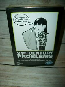 Hasbro's 21st Century Problems Card Game Adult Party Game New Sealed