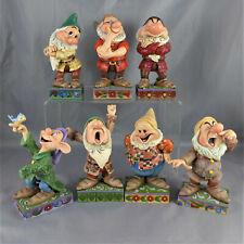 00004000 Jim Shore Lot of Seven Dwarfs Snow White Disney Traditions Showcase Collection