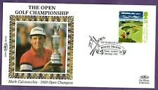 British Golf Open Win   Mark Calcavecchia   Royal TROON postmark and stamp 1984