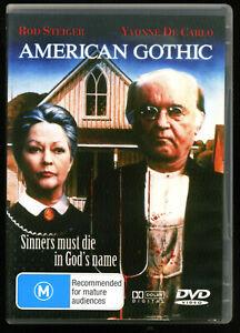American Gothic (1987) DVD rare Cult Horror Classic Rod Steiger reg. 0/ALL