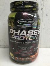 Muscletech Phase8 Protein Multi-phase 8 Hour 2.5lb Size Milk Chocolate