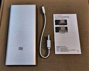 Xiaomi Mi Power Bank 2 PLM09ZM Portable Quick Charger 10000mAh Dual USB