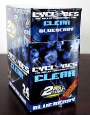 24x Tubes Cyclone Clear Blueberry Pre Rolled Cone~48 Cones Total~Sealed Box