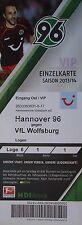 Vip ticket 2013/14 Hannover 96-vfl wolfsburg