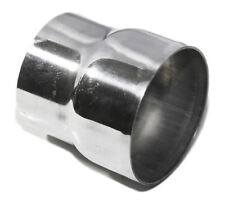 """Universal Piping Aluminum Exhaust Reducer 3.5"""" O.D. to 4"""" O.D. 3.9"""" Length"""