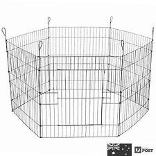 METAL HEXAGON 6 SIDE PET 60*63 Play Run Cage Dog Puppy Pen Rabbit Guinea Pig Cat