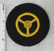 WW2 Vintage GERMAN NAVY KRIEGSMARINE MOTOR TRANSPORT DRIVER PATCH Original